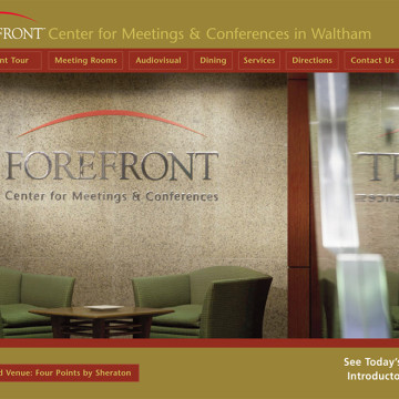 Forefront Conference Center Logo Brochure