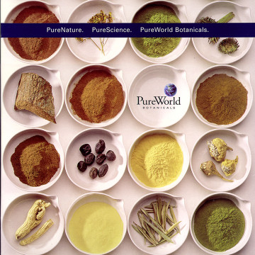 PureWorld Botanicals Folder Tradeshow Display